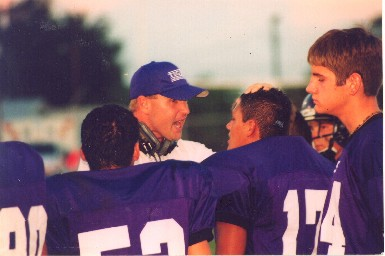 Coach Bill E. Williams has heart and dedication to growing men and football players.