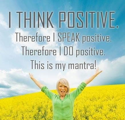 I think positive - how about you?