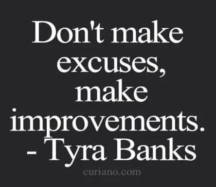 make positive improvements every day